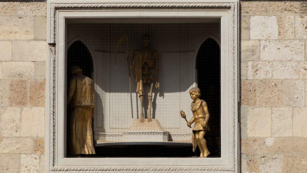 Campanile del Duomo di Messina, il carosello della vita