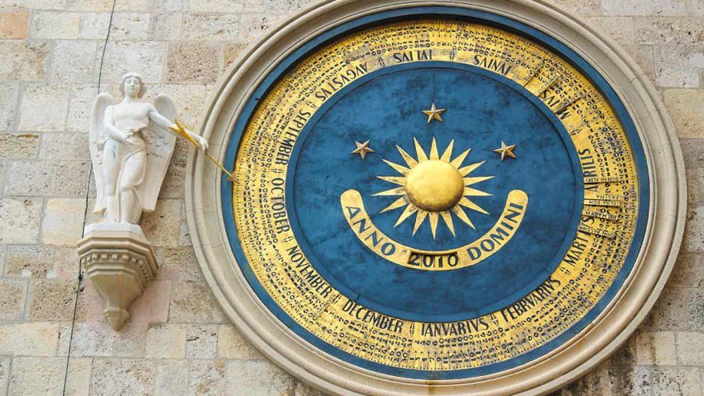 Campanile del Duomo di Messina: i meccanismi astronomici
