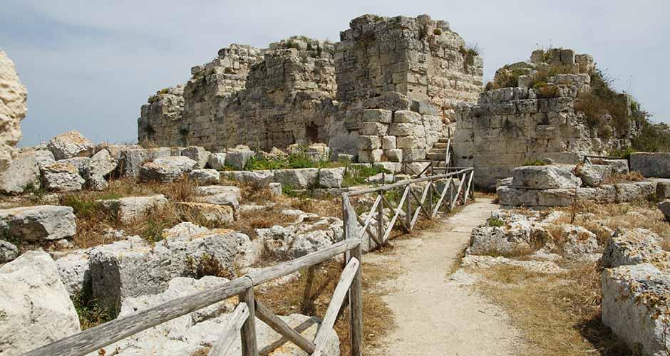 Rovine del Castello di Eurialo a Siracusa