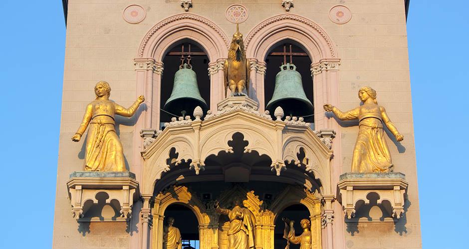 Particolare del Campanile del Duomo di Messina