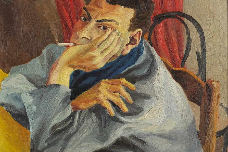 L'autoritratto di Guttuso conservato nella Galleria d'Arte Moderna di Palermo
