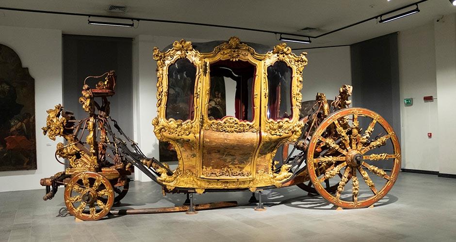 Carrozza del Senato messinese custodita nel Museo Regionale di Messina
