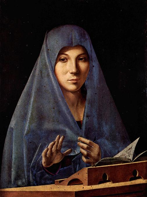 """Il famoso quadro siciliano di Antonello da Messina dal titolo """"Annunciata"""""""