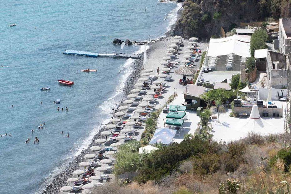 La Spiaggia di White Beach a Lipari