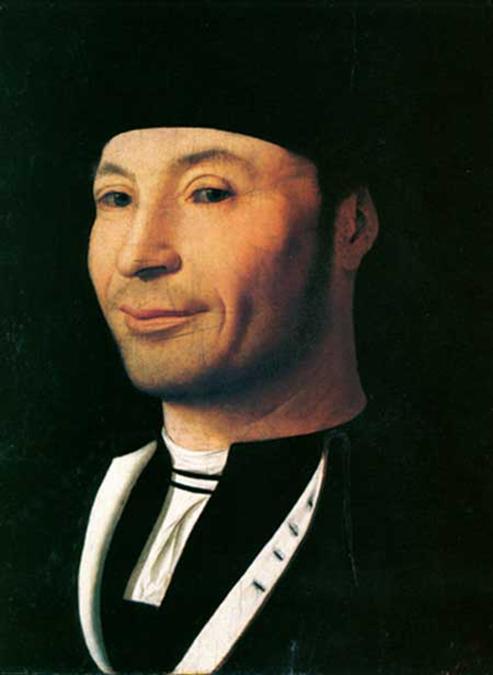 Il famoso quadro siciliano Ritratto di Ignoto di Antonello da Messina