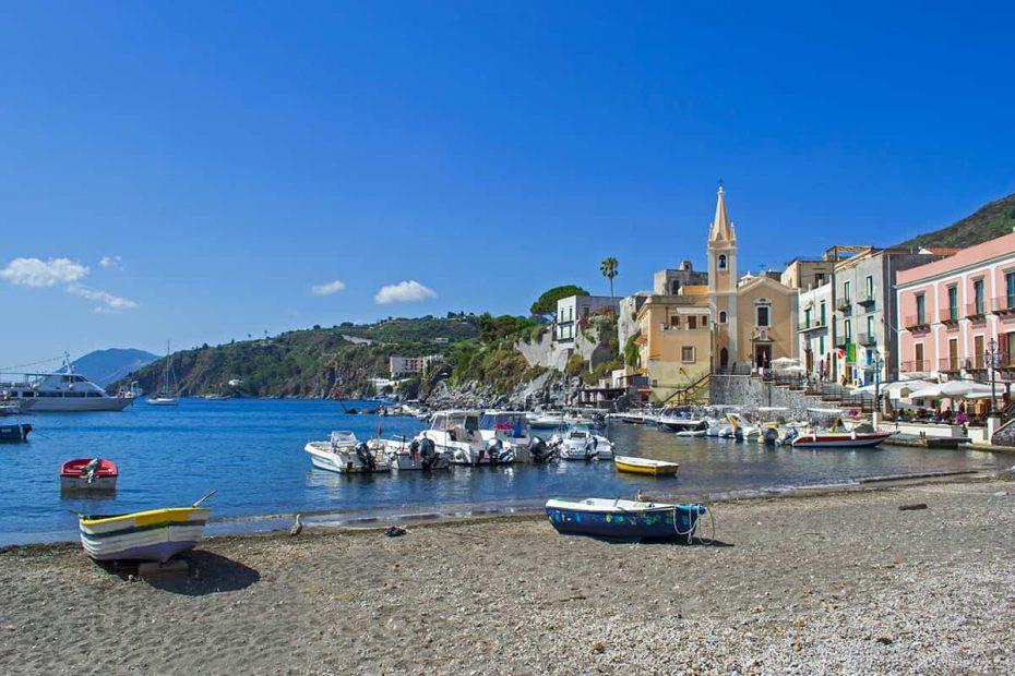 La Spiaggia di Marina Corta a Lipari
