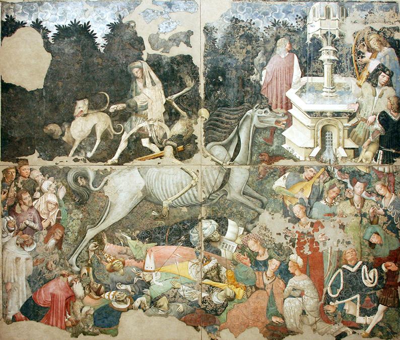 Il famoso quadro siciliano il Trionfo della Morte