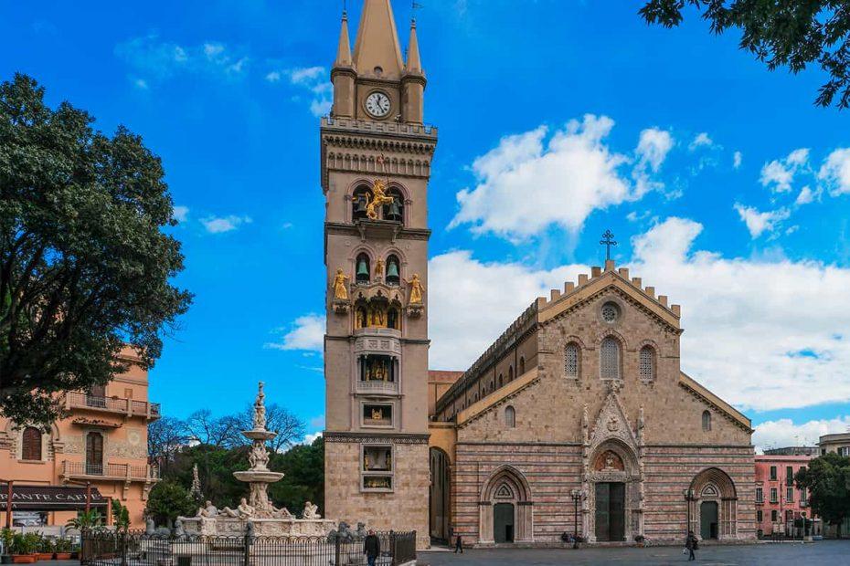 Facciata del Duomo di Messina