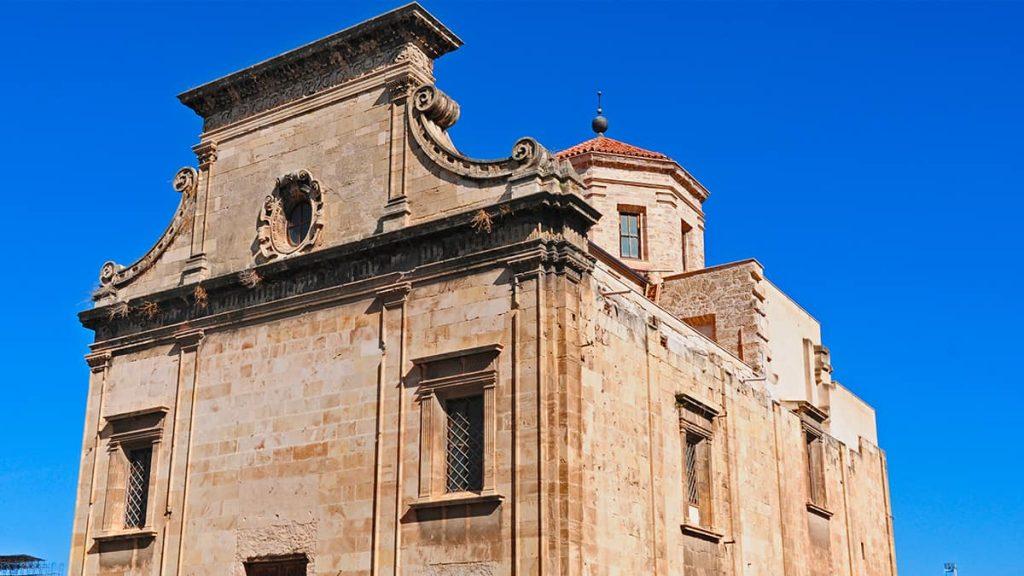 Prospetto della chiesa di San Giorgio dei Genovesi a Palermo