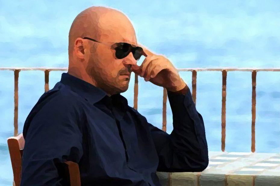Una scena della serie il Commissario Montalbano