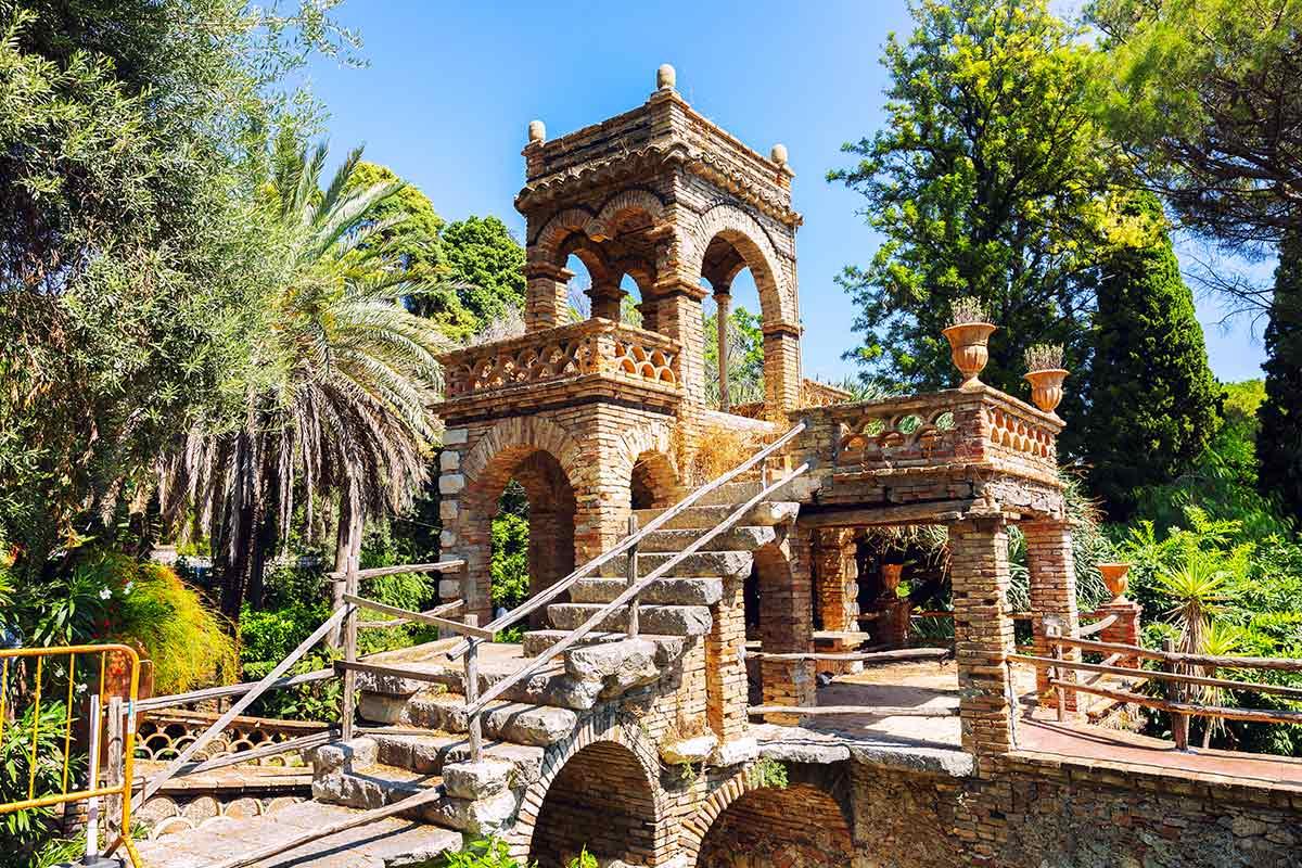 Villa Comunale di Taormina - The World of Sicily