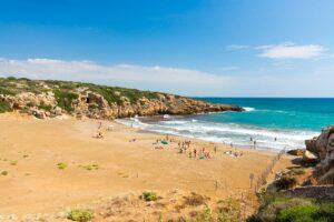 Spiaggia di Calamosche nella Riserva di Vendicari