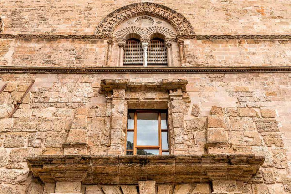 Facciata del Palazzo Chiaramonte Steri di Palermo