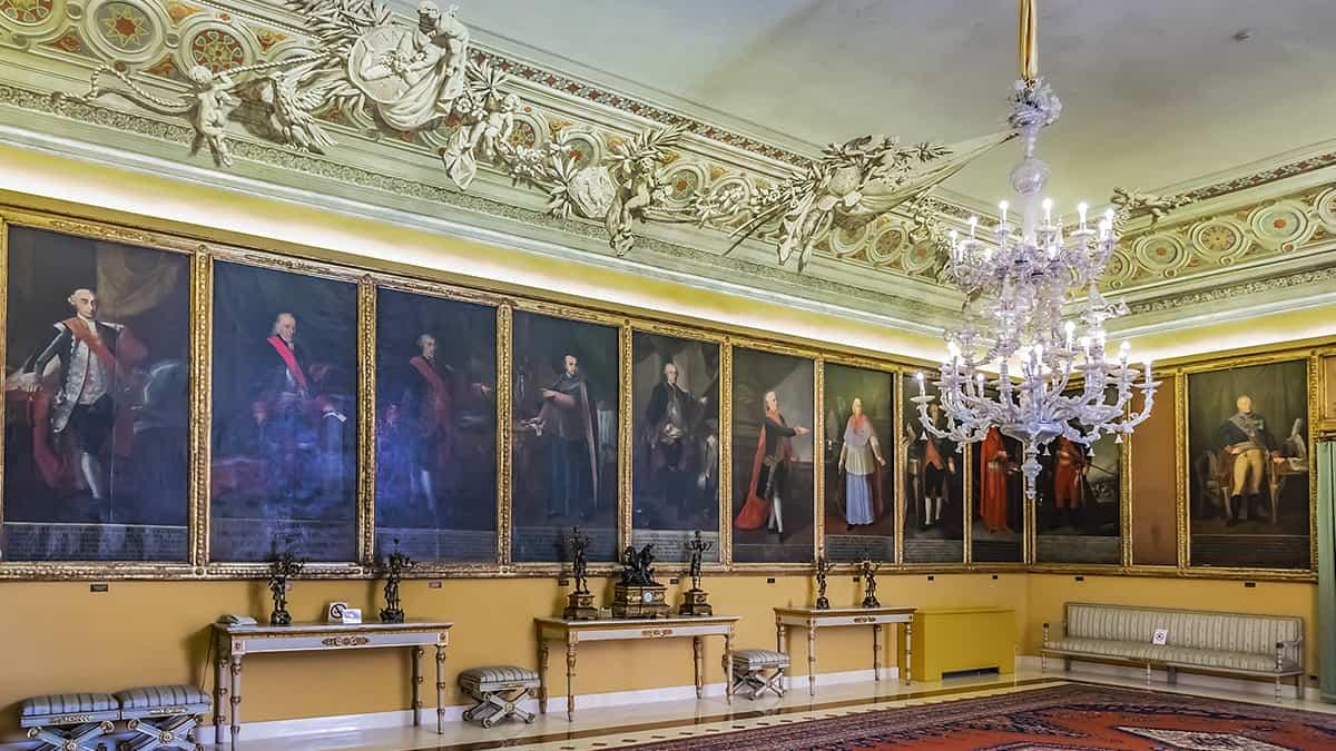 La Sala dei Viceré del Palazzo Reale di Palermo